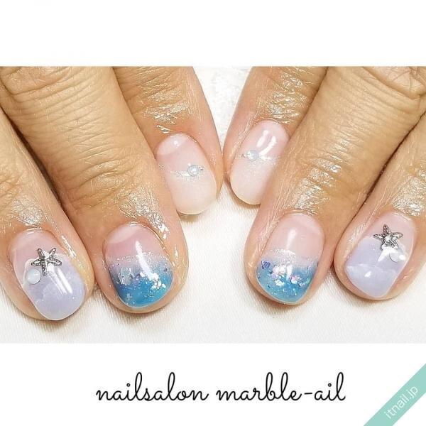 marble-ailが投稿したネイルデザイン [photoid:I0072669] via Itnail Design (649046)