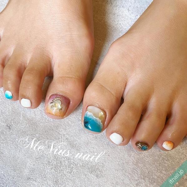 MeVius nailが投稿したネイルデザイン [photoid:I0087392] via Itnail Design (649039)