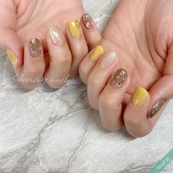 Gemmy nailが投稿したネイルデザイン [photoid:I0098282] via Itnail Design (649690)