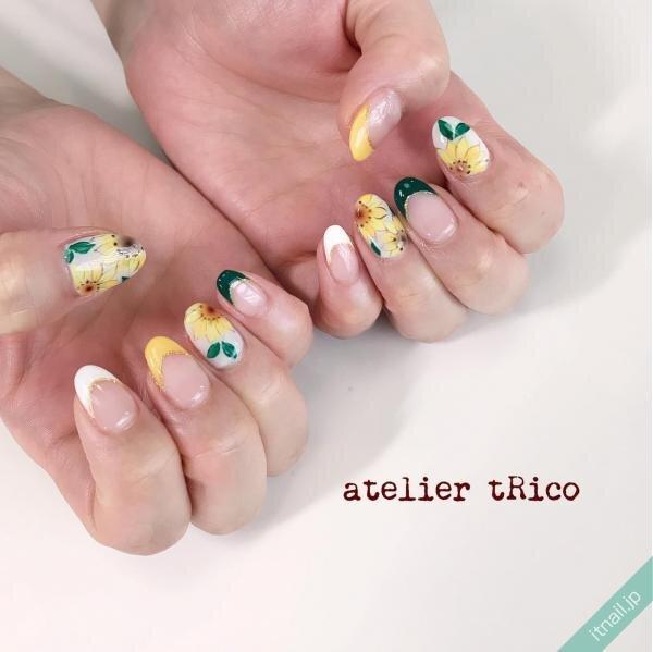 atelier tRicoが投稿したネイルデザイン [photoid:I0087423] via Itnail Design (649746)