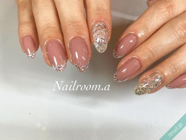 Nailroom彩が投稿したネイルデザイン [photoid:I0099150] via Itnail Design (649743)