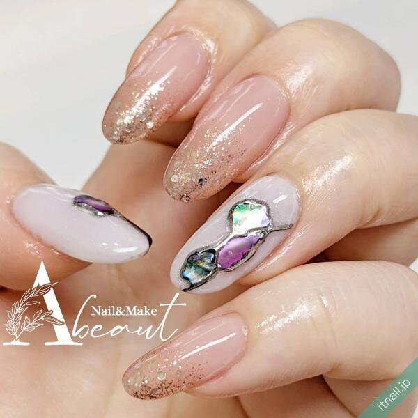 Nail&Make Abeautが投稿したネイルデザイン [photoid:I0099178] via Itnail Design (650528)