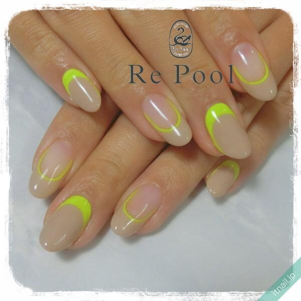 Re Poolが投稿したネイルデザイン [photoid:I0076739] via Itnail Design (650278)