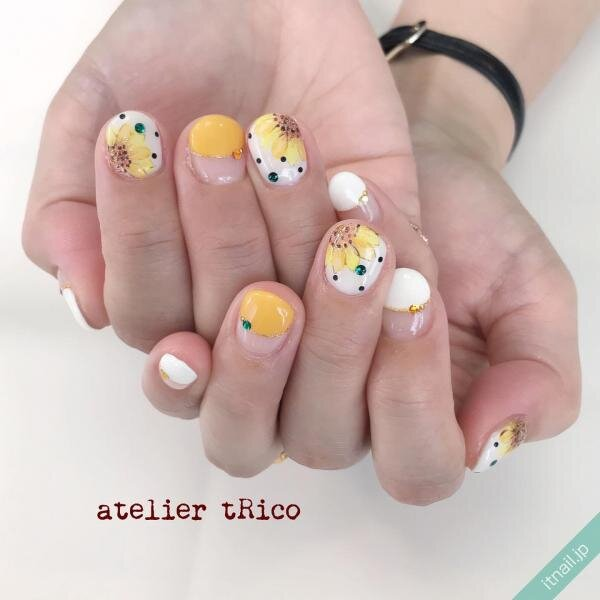 atelier tRicoが投稿したネイルデザイン [photoid:I0087413] via Itnail Design (650773)