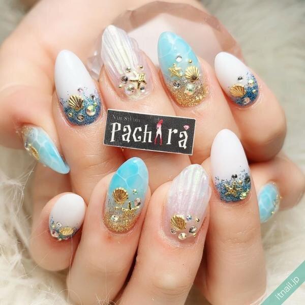 Pachiraが投稿したネイルデザイン [photoid:I0072456] via Itnail Design (648668)