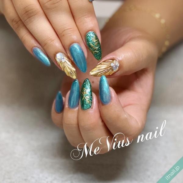MeVius nailが投稿したネイルデザイン [photoid:I0087381] via Itnail Design (648661)