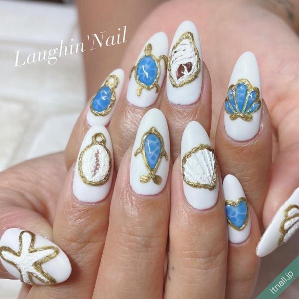 Laughin'Nailが投稿したネイルデザイン [photoid:I0088414] via Itnail Design (650869)