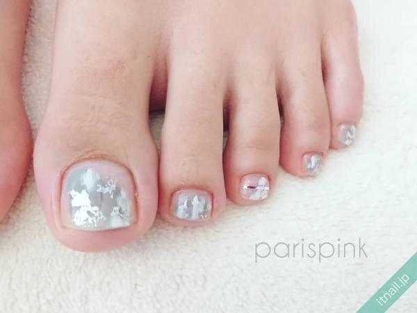 Paris Pinkが投稿したネイルデザイン [photoid:I0072931] via Itnail Design (650695)