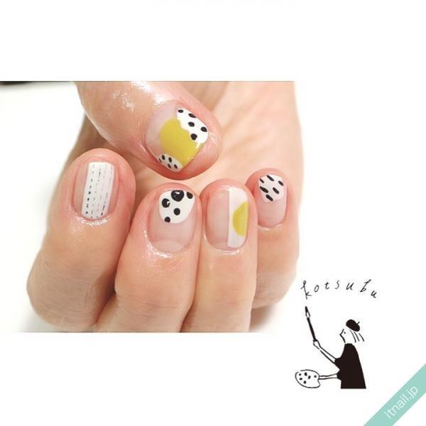 小粒nailが投稿したネイルデザイン [photoid:I0099516] via Itnail Design (651023)
