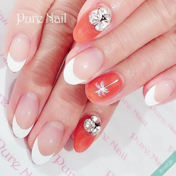 Pure Nailが投稿したネイルデザイン [photoid:I0085267] via Itnail Design (651126)