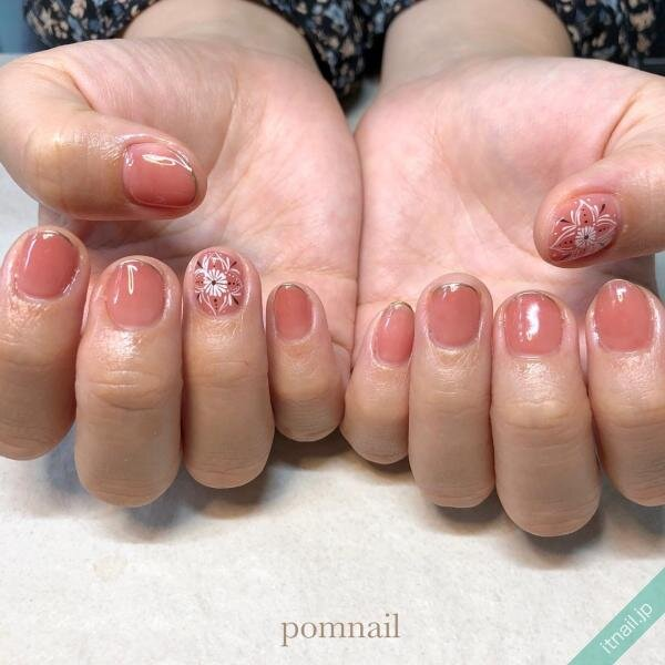 pom nailが投稿したネイルデザイン [photoid:I0095440] via Itnail Design (651265)