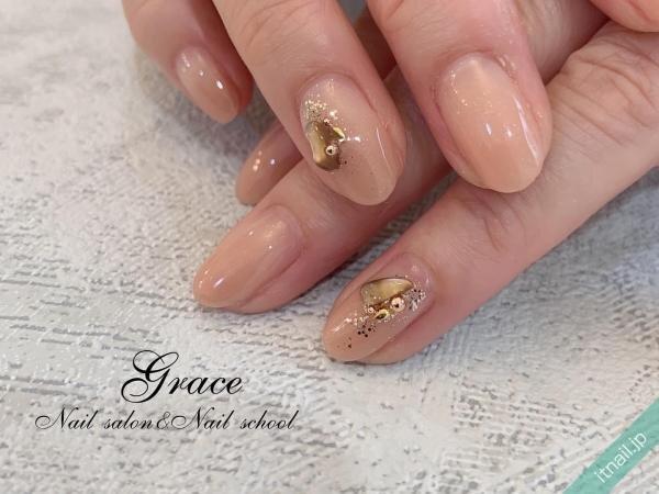 Graceが投稿したネイルデザイン [photoid:I0095988] via Itnail Design (651377)