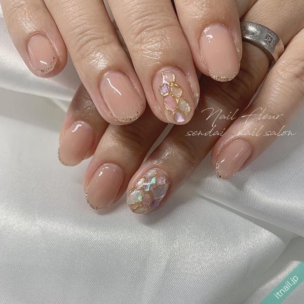 Nail fleurが投稿したネイルデザイン [photoid:I0098383] via Itnail Design (651373)