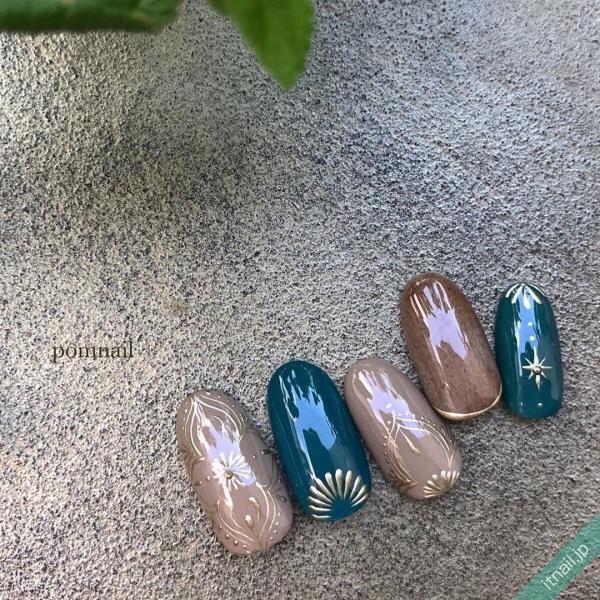 pom nailが投稿したネイルデザイン [photoid:I0074105] via Itnail Design (651553)