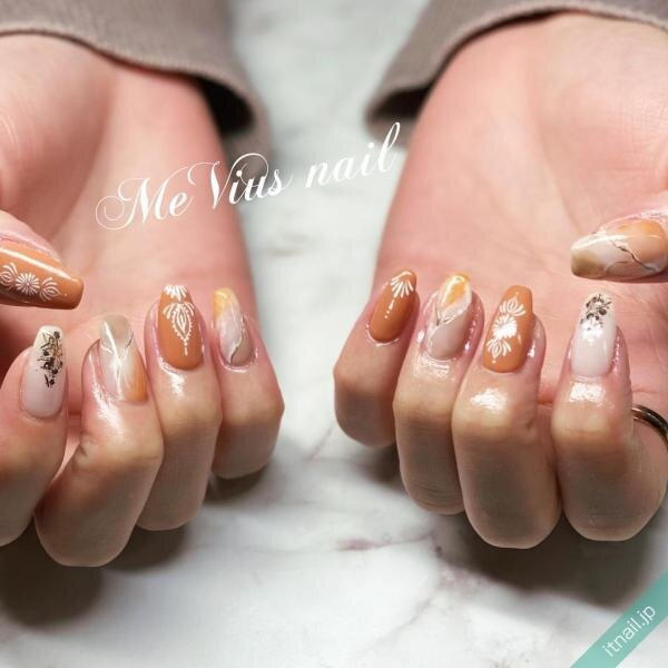 MeVius nailが投稿したネイルデザイン [photoid:I0083455] via Itnail Design (651555)