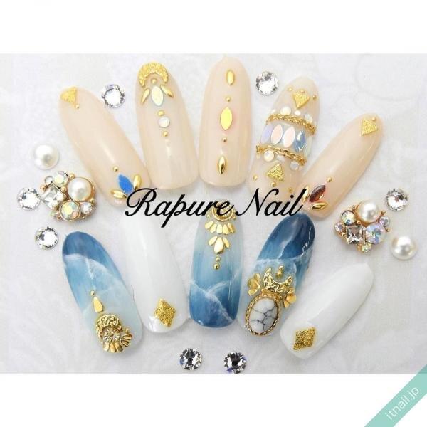 Rapure Nailが投稿したネイルデザイン [photoid:I0049810] via Itnail Design (651557)