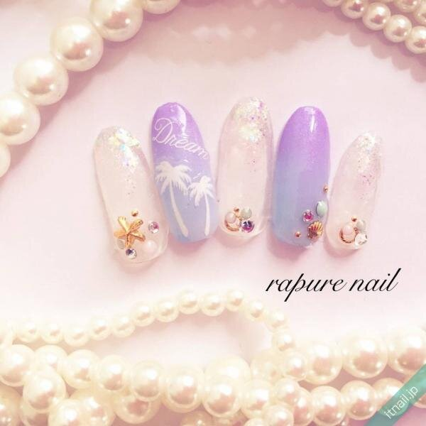 Rapure Nailが投稿したネイルデザイン [photoid:I0049838] via Itnail Design (652090)