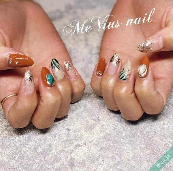 MeVius nailが投稿したネイルデザイン [photoid:I0087393] via Itnail Design (651698)