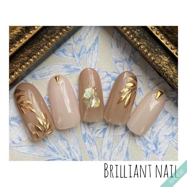 Brilliant Nailが投稿したネイルデザイン [photoid:I0089209] via Itnail Design (651697)