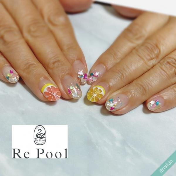 Re Poolが投稿したネイルデザイン [photoid:I0088616] via Itnail Design (652149)