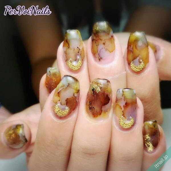 PER VOI Nailsが投稿したネイルデザイン [photoid:I0072321] via Itnail Design (651776)