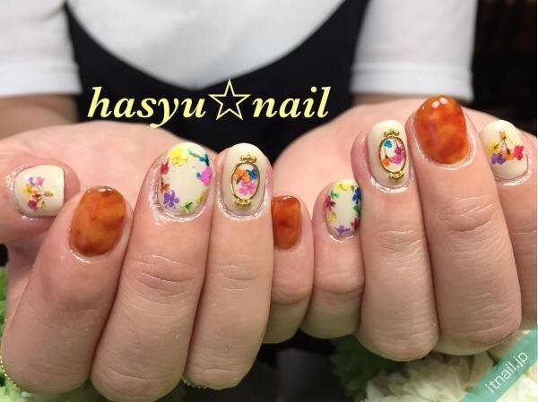 hasyu☆nailが投稿したネイルデザイン [photoid:I0007565] via Itnail Design (652270)
