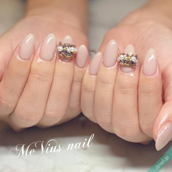 MeVius nailが投稿したネイルデザイン [photoid:I0096496] via Itnail Design (651823)