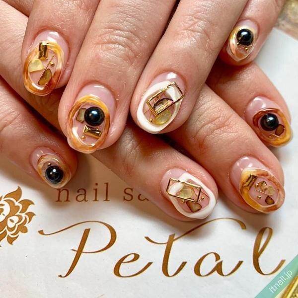 nail salon Petalが投稿したネイルデザイン [photoid:I0067844] via Itnail Design (650720)
