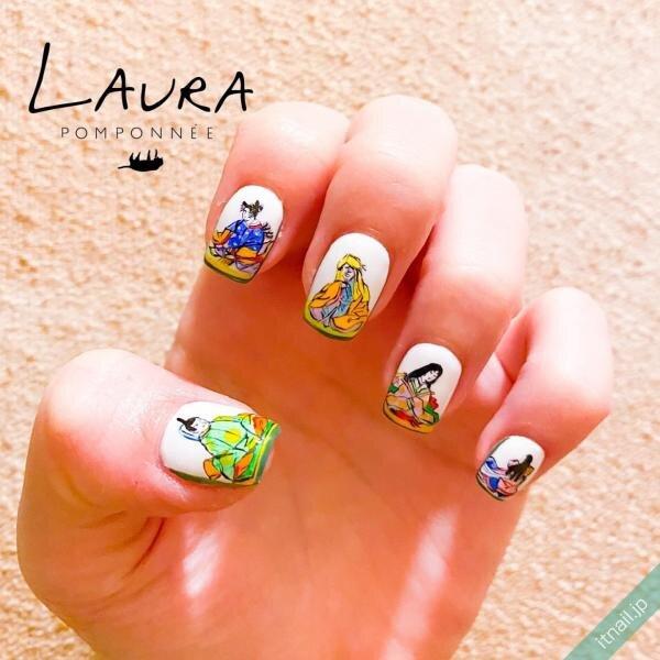 LAURA POMPONNEEが投稿したネイルデザイン [photoid:I0078760] via Itnail Design (652570)