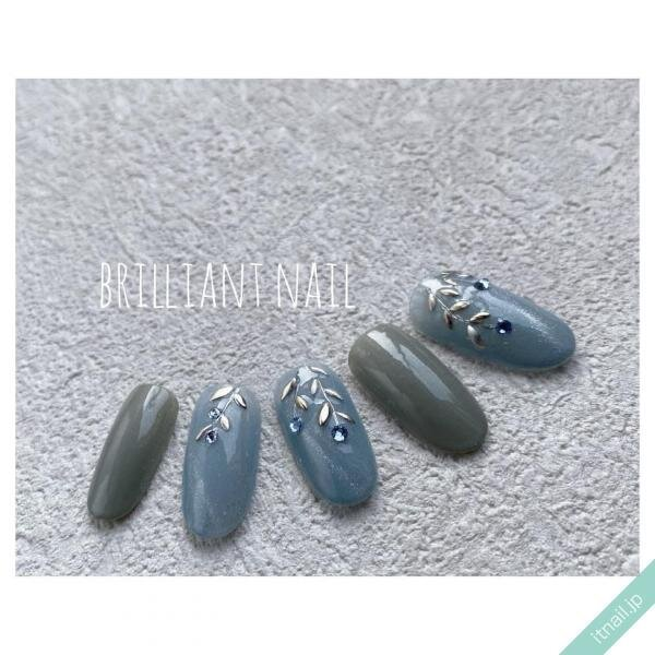 Brilliant Nailが投稿したネイルデザイン [photoid:I0100951] via Itnail Design (653366)