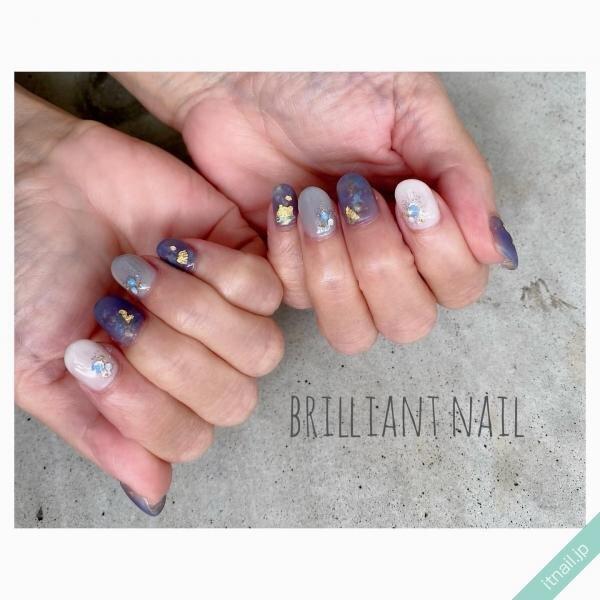 Brilliant Nailが投稿したネイルデザイン [photoid:I0100944] via Itnail Design (653367)
