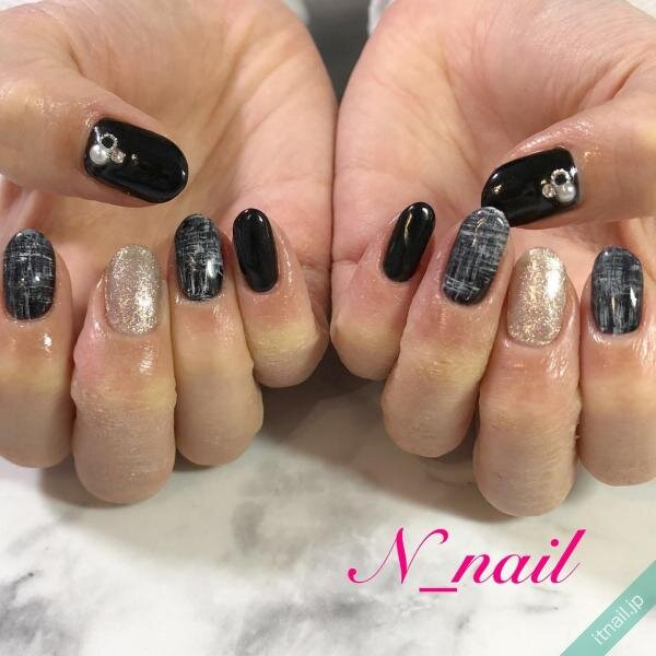 N_nailが投稿したネイルデザイン [photoid:I0094776] via Itnail Design (653722)