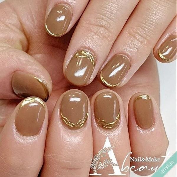 Nail&Make Abeautが投稿したネイルデザイン [photoid:I0102323] via Itnail Design (656833)