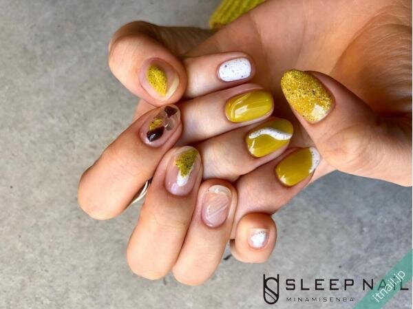SLEEP NAiLが投稿したネイルデザイン [photoid:I0085757] via Itnail Design (654081)