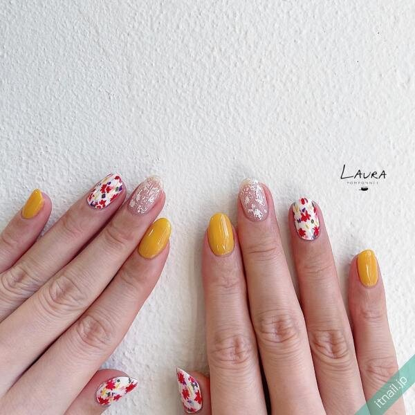 LAURA POMPONNEEが投稿したネイルデザイン [photoid:I0098598] via Itnail Design (654084)